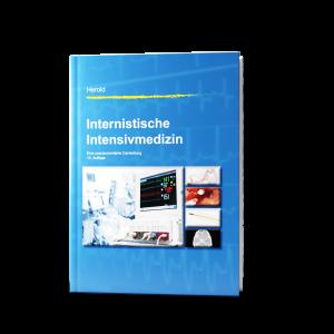 Visualisierung der 10. Auflage des Buchs Internistische Intensivmedizin
