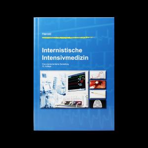 Frontseite des Covers vom Buch Internistische Intensivmedizin - Eine praxisorientierte Darstellung (10. Auflage) von Volker Herold